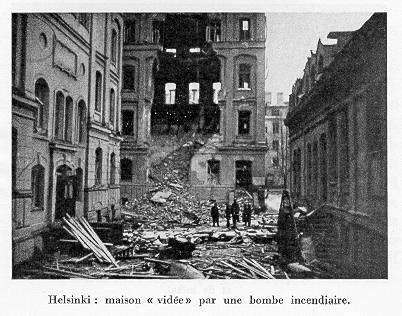 The bombardment of Helsinki 1939-40